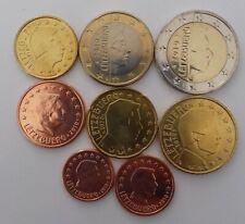 DISPO Séries 8 pièces LUXEMBOURG 2008, 09, 10, 12 et 14. Envoi en suivi.