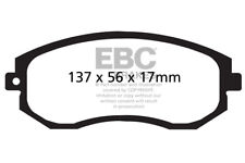EBC Yellowstuff Front Brake Pads for Toyota GT86 2.0 (Not UK) (200HP) (2012 on)