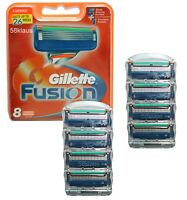 8 Gillette Fusion Klingen im Blister / 8 razor blades Gillete Gilette Gilete