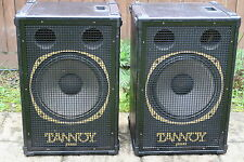 "TANNOY PUMA 15"" DUAL CONCENTRIC SPEAKERS A RARE CLASSIC LOUD SPEAKER EXCOND GWO"