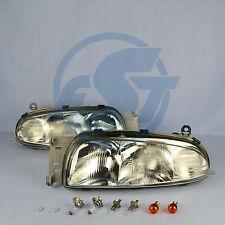 2x Scheinwerfer Ford Fiesta IV 4 links + rechts Set mit Leuchtmittel bis 09/1999