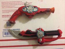 Power Rangers Gun Blaster Sword Knife 2013