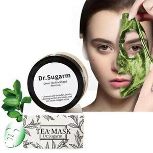 50g Green Tea Mask Powder Nose Blackhead Remover Shrink Pore Deep Cleansing Mask