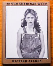 RICHARD AVEDON - IN THE AMERICAN WEST 1985 1ST EDITION - FINE COPY