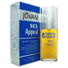 Jovan Sex Appeal for Men by Coty 3 oz EDC Eau de Cologne Spray New in Box NIB