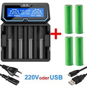 Xtar X4 - Ladegerät inkl. 2/4 Sony Konion US18650VTC6 - 3120mAh, 3,6V - 3,7V  ..