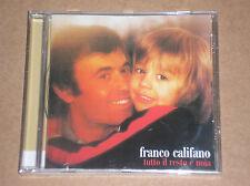 FRANCO CALIFANO - TUTTO IL RESTO E' NOIA - CD SIGILLATO (SEALED)