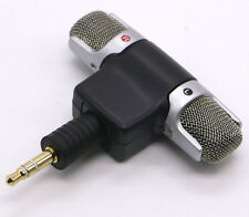 3.5 ECM-DS70P Electret Condenser Wireless Stereo Microphone 3.5mm for Sony Pop !