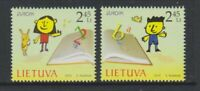 Lithuania - 2010, Europa, Children's Books set - MNH - SG 1001/2