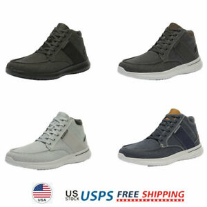 Mens Boys High Top Fashion Sneakers Canvas Fashion Casual Shoes Walking Shoes