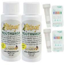 2 - Stinger Detox Mouthwash 2 oz Detox with -  2 saliva test
