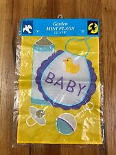 New Garden Mini Flag New Baby 12 X 18 Banner Unisex Ae