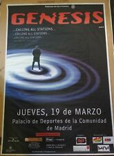 GENESIS MADRID Calling All Stations TOUR BIG PROMO POSTER 100cm X 140cm RARO