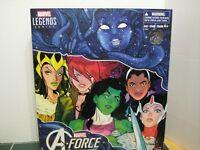 Marvel Legends Exclusive A Force Six Pack Set She Hulk Elsa Bloodstone Loki Sif