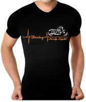 T-shirt maglia per moto Harley DAVIDSON FORTY EIGHT battito cuore 48 maglietta