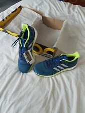 adidas Supernova M Mens Running Boost Trainers Shoes Blue/Navy green UK 13.5