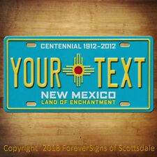 New Mexico YOUR TEXT Your Personalized  Custom Vanity License Plate Tag New