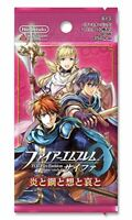 "(1 pack) TCG Fire Emblem pack Fire and Steel, Thought and Sorrow"" (10 cards in)"