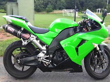 Plastic Green Fairing Fit for 2006 2007 06-07 ZX10R Injection ABS Set l07