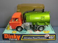 VINTAGE DINKY TOYS  MODEL No.451 JOHNSTON ROAD SWEEPER  VN MIB