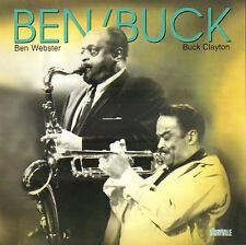 BEN WEBSTER & BUCK CLAYTON - BEN AND BUCK (1995 JAZZ CD STORYVILLE)