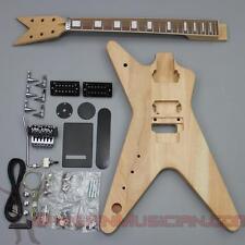 Bargain Musician - GK-010L - LEFT Hand DIY Unfinished Project Luthier Guitar Kit
