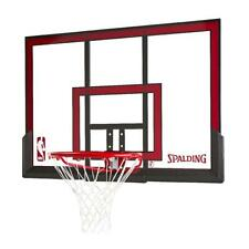Basketball Backboard Rim Combo Net Steel Frame Slam Jam Outdoor Game Sports 48""
