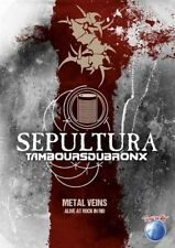 Sepultura - Metal Veins - Alive At Rock In Rio (R0) - DVD - Music