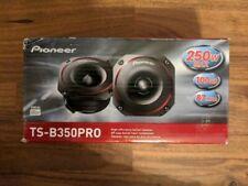New listing Pioneer Pro Ts-B350Pro 3.5″ 250W Bullet Car Tweeter - Pair