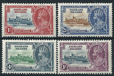 Mint Hinged Royalty Falkland Island Stamps