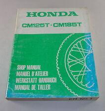 Werkstatthandbuch Honda CM125T, CM185T, Stand 1978