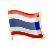Thailand Flag Badge Enamel Pin Metal Thai