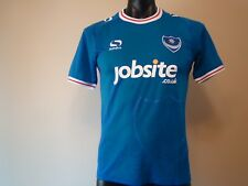 PORTSMOUTH FC OFFICIAL LICENSED HOME JERSEY 17/18 MENS SMALL NEW