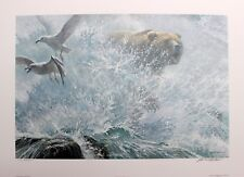Robert Bateman Hand Signed Numbered Limited Endangered Species Grizzly 1990