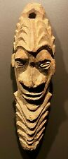 Bold New Guinea Mask made from hardwood  1950s