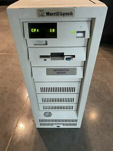 IBM PS/2 Vintage Computer - Model 95 XP486 - Base Unit Only Powers Up.