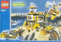 Lego Town World City 7047 Coast Watch HQ New Sealed Police Rescue