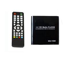 Mini Full 1080P HD Multi Media Player MKV Rmvb TV BOX HDMI/VGA/AV USB & SD