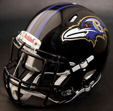 BALTIMORE RAVENS NFL Authentic GAMEDAY Football Helmet w/ S2EG-II-SP Facemask