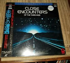 CLOSE ENCOUNTERS OF THE THRID KIND●LASER DISC●RATED G●RARE●SEALED ●JAPANESE●RARE