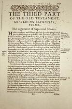 Stampa incorniciata-ORIGINALE dai fratelli cattolico sulla Bibbia scansione (PICTURE biblico ART)