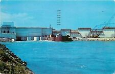 New York~St Lawrence River Seaway and Power Project~1958 Postcard
