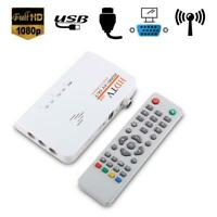 DECODER DVB-T T2 TV RICEVITORE BOX HDMI AV DIGITALE TERRESTRE 1080P USB