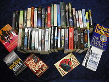 A MIXED SET OF OVER 40 FICTION BOOKS A COLLECTIONS OF BOTH H/B AND P/B
