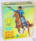 Echo Toys Hong Kong The Lone Ranger Wind-Up Walking Horse  Rider Figure Set MIB