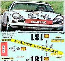 Porsche 911 Tour de France Gangant 1969 #181 Larousse 1:24