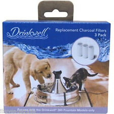 Drinkwell 360 Pet Fountain Dogs & Cats Replacement Filter Pack of 3 PAC19-14356