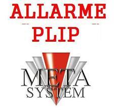 NUOVO ALLARME TOP PLIP ANTIFURTO AUTO METASYSTEM PLIP
