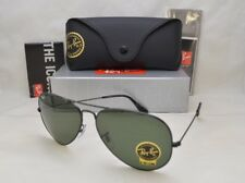 Ray Ban LARGE METAL II (RB3026-L2821 62) Black with Crystal Green Lens