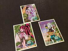 Monster High MH LOT OF 3 SKULL SHORES POSTCARD Gil Webber Draculaura Abbey